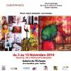 Exposition à la Galerie de l'Écharpe à Toulouse