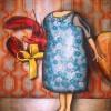 Peinture: Recevoir un cadeau auquel on ne s'attend pas