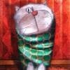 Peinture: Chat de soirée