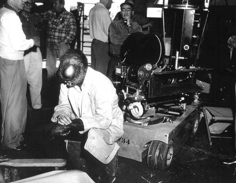 Photo de tournage du film La mouche