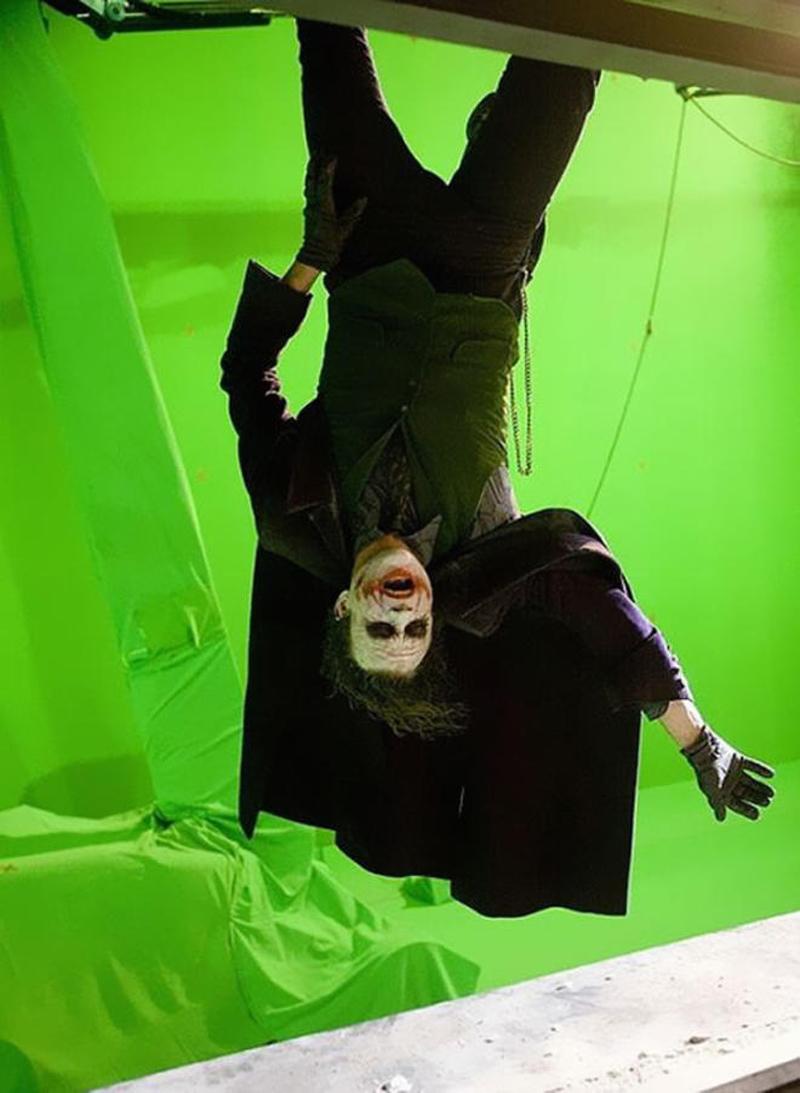 Photo de tournage du film The Dark Knight