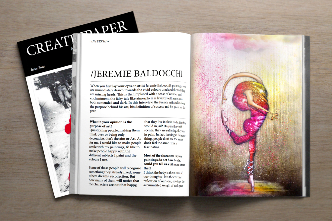 Interview CreativPaper Magazine