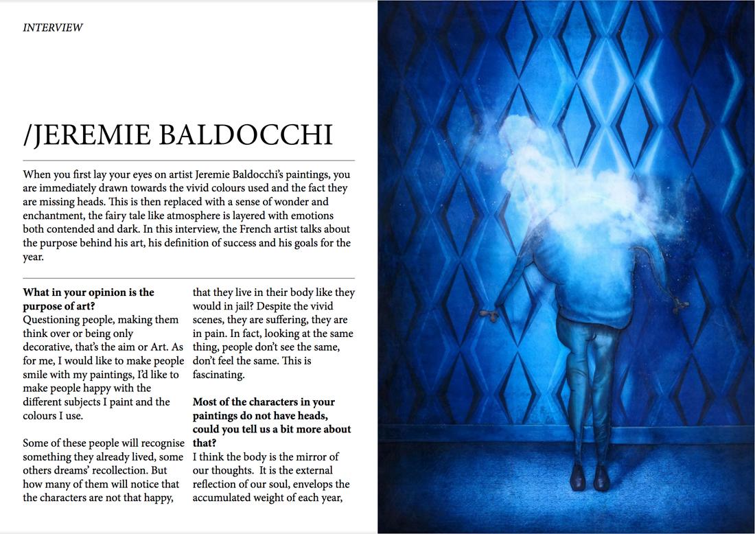 Magazine art contemporain CreativPaper page 2