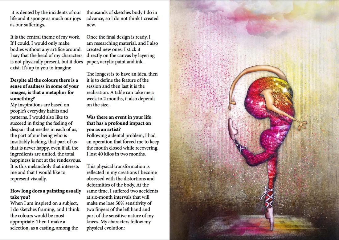Magazine art contemporain CreativPaper page 3