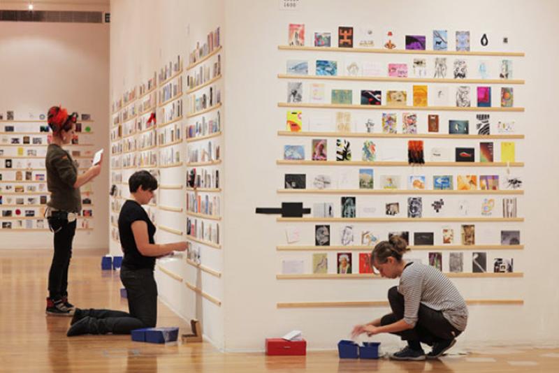 Extrêmement Exposition: Cartes postales d'artistes au Goethe Institut de Lyon  HZ82
