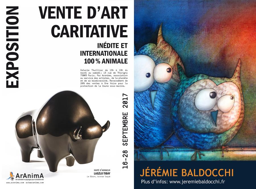 Exposition Aranima Galerie Thuillier