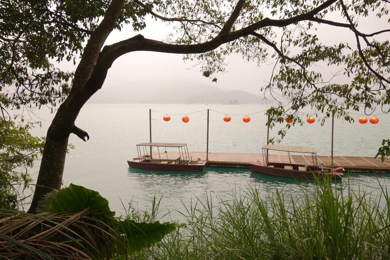 Mon voyage au Sun Moon Lake à Taichung à Taïwan