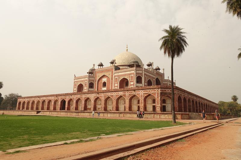 Mon voyage à Delhi en Inde Tombeau d'Humayun