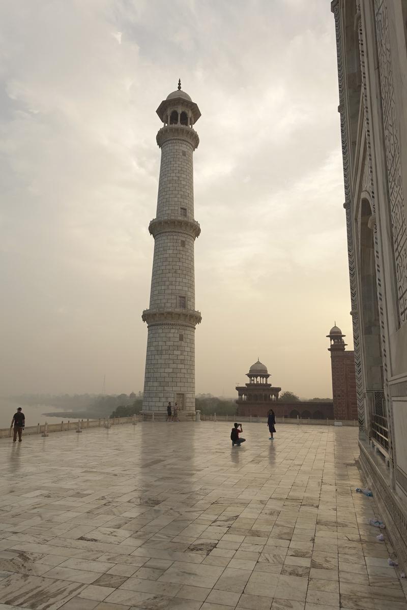 Mon voyage à Agra en Inde Taj Mahal