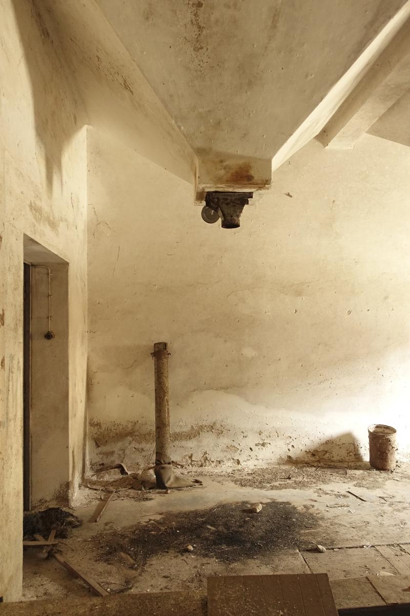 Usine désaffectée et abandonnée à Mértola au Portugal
