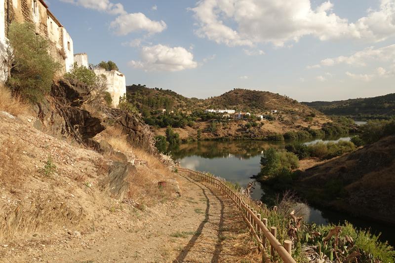 Mon voyage à Mértola au Portugal