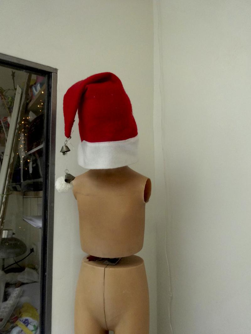 Mon atelier à Noël en 2014