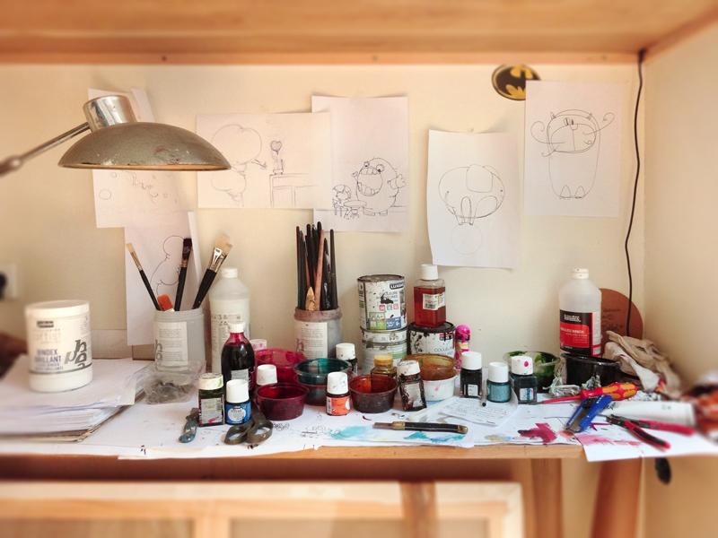 Portes Ouvertes de mon atelier d'artiste