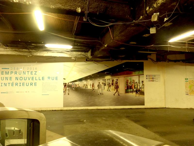 Travaux aux Forum des Halles: Les transports