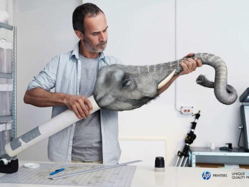 Publicité Imprimante HP