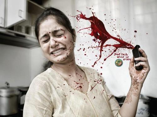 Publicité sur la sécurité routière