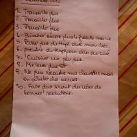 Ma liste de bonnes résolutions pour 2012