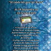 Nouvelle exposition: Les 30 ans de la Fnac
