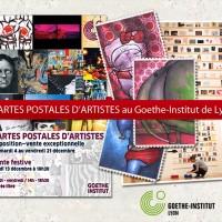 Exposition: Cartes postales d'artistes au Goethe Institut de Lyon