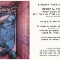 Exposition: Galerie Thuillier: Prix du Jury et de la Presse