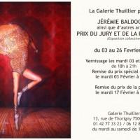 Exposition: Galerie Thuillier: Prix du Jury et de la Presse 2015