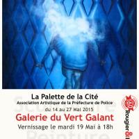 Exposition à la Galerie du Vert Galant