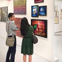 Photos de la Foire Affordable Art Fair à Séoul