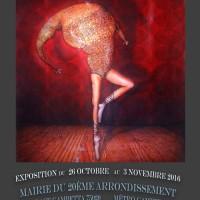 Exposition à la Mairie du 20ème – Paris