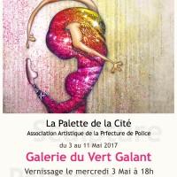 Exposition Galerie du Vert Galant Paris