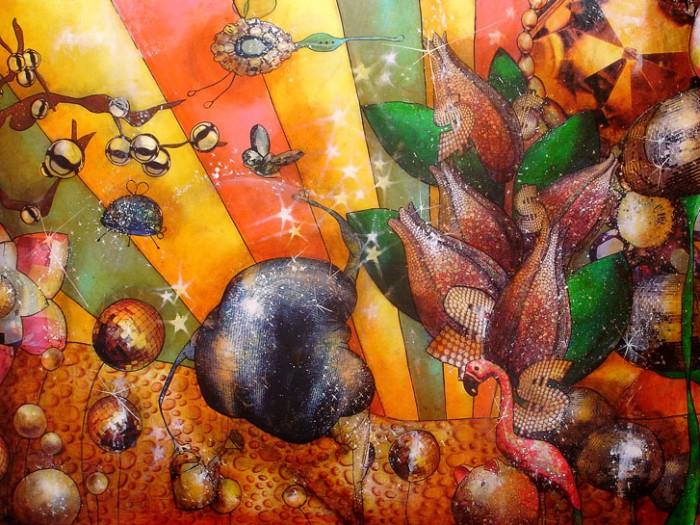 Peinture: Jardin