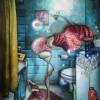 Peinture: Jeudi c'est le jour des lessives