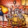 Peinture: La Machine à faire des conserves