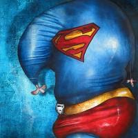 Peinture: Superman
