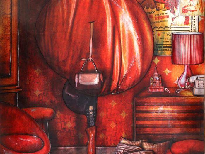 Peinture: Sabine 18h25