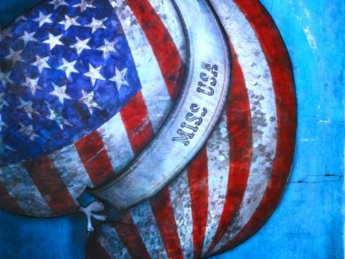 Peinture: Miss USA 2012