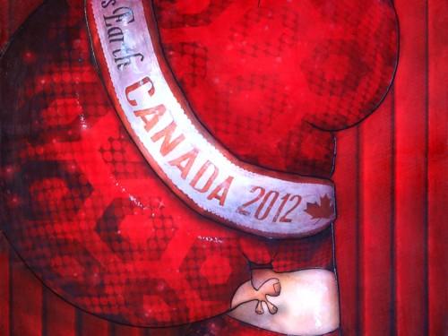 Peinture: Miss Canada