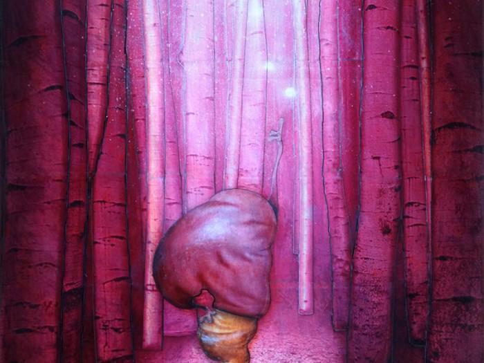 Peinture: Forêt