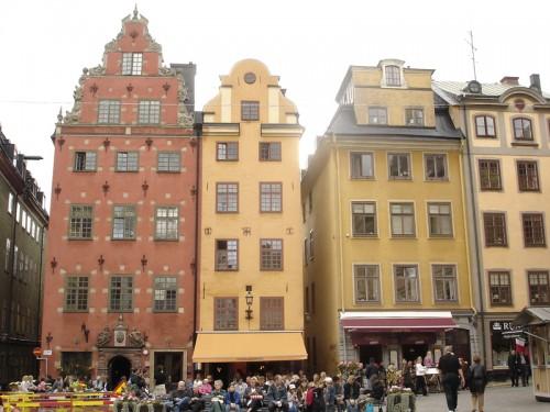 Mon voyage en Suède à Stockholm