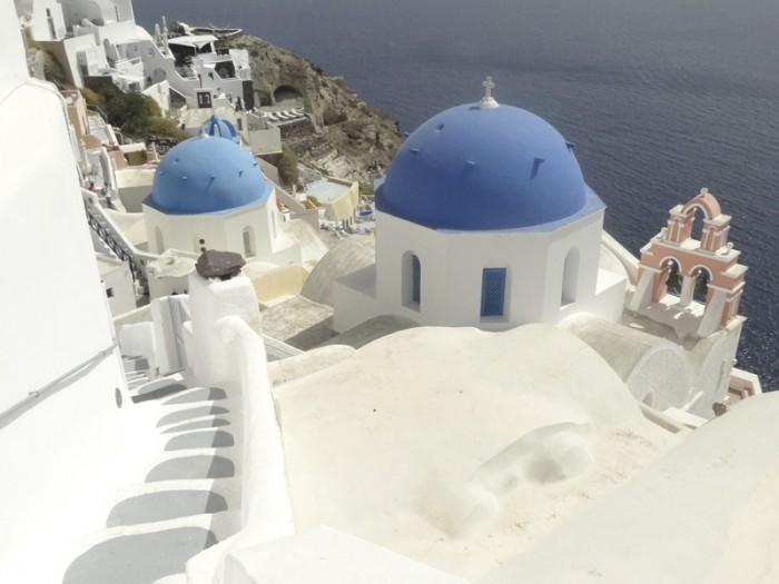 Mon voyage en Grèce – île de Santorin, Oia