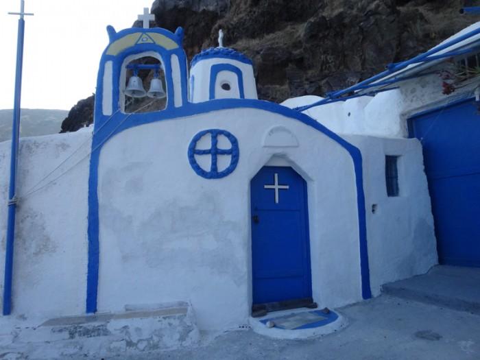 Mon voyage en Grèce – île de Santorin, Kaméni et Thirassía