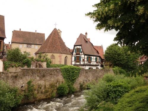 Mon voyage en Alsace: Kaysersberg et Ribauvillé