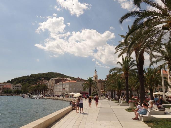 Mon voyage en Croatie: Split