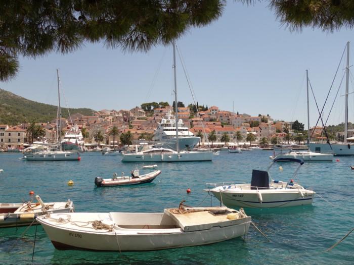 Mon voyage en Croatie: L'île d'Hvar
