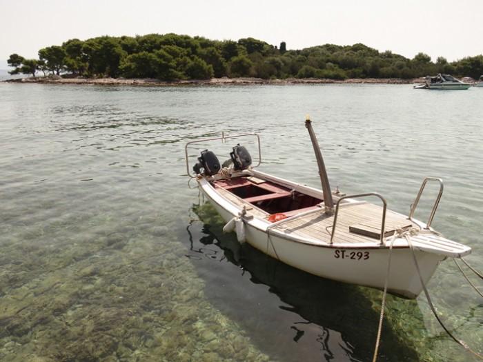 Mon voyage en Croatie: Trogir, Drvenik et l'île de Solta