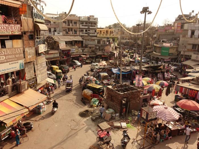Mon voyage à Delhi en Inde: La ville 1/2