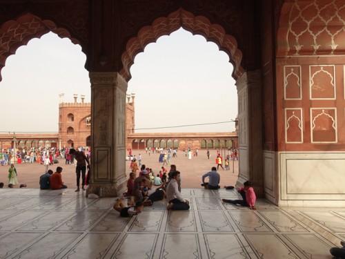 Mon voyage à Delhi en Inde: Lodi Garden, Mosquée Jama Masjid et Temple Hanuman