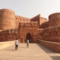 Mon voyage à Agra en Inde: Le Fort Rouge