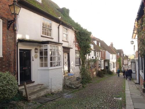 Mon voyage à Rye, Eastbourne et Portsmouth en Angleterre