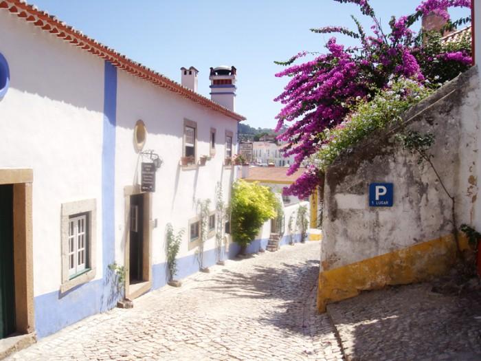 Mon voyage au Portugal à Obidos
