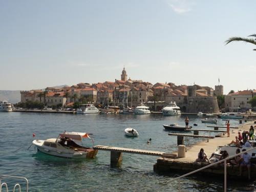 Mon voyage à Korcula et Lumbarda en Croatie